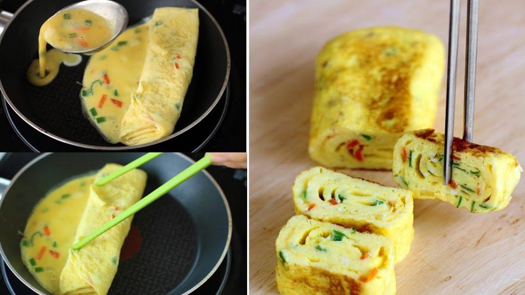 Tham khảo ngay công thức làm trứng cuộn Hàn Quốc vạn người mê