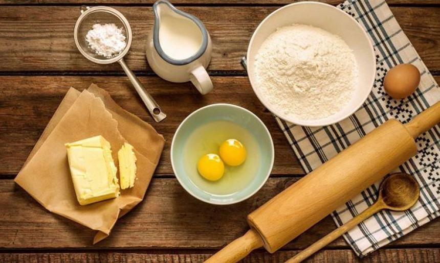 Nguyên liệu cần chuẩn bị để làm bánh su kem