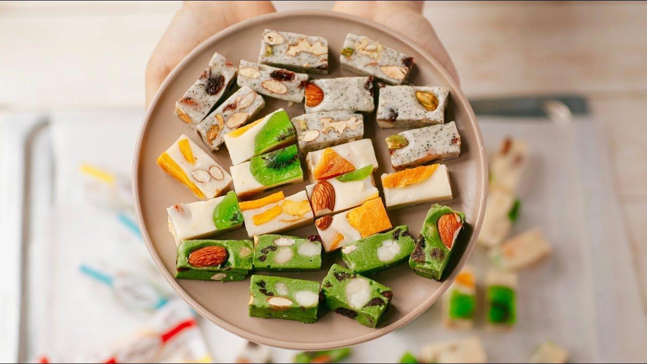 Đừng bỏ qua cách làm kẹo Hạnh phúc - Nougat cực đơn giản này!