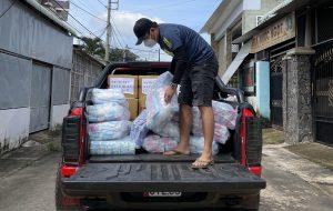Chủ doanh nghiệp tại Đồng Nai tự mua băng vệ sinh tặng chị em phụ nữ