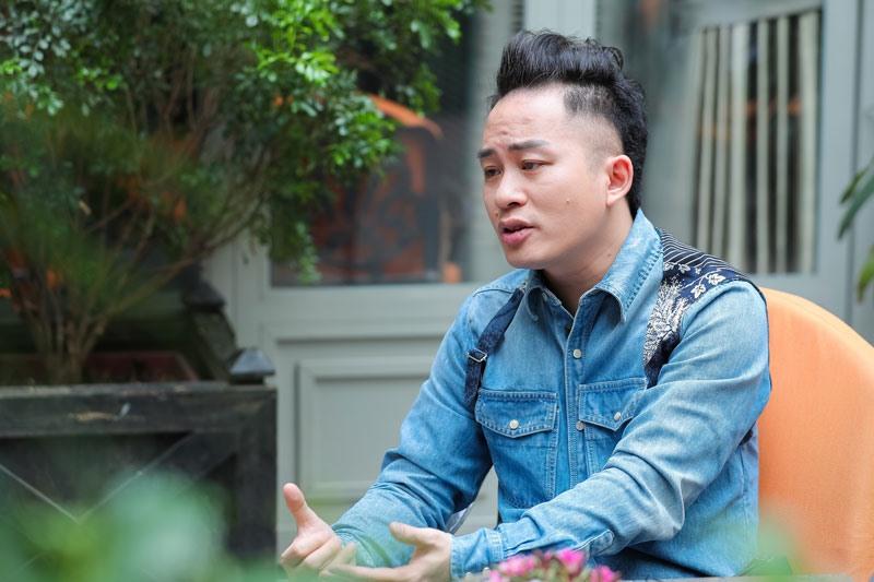 Ca sĩ Tùng Dương sở hữu giọng hát nội lực