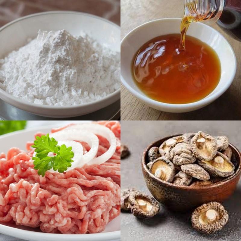 Nguyên liệu để làm món ăn