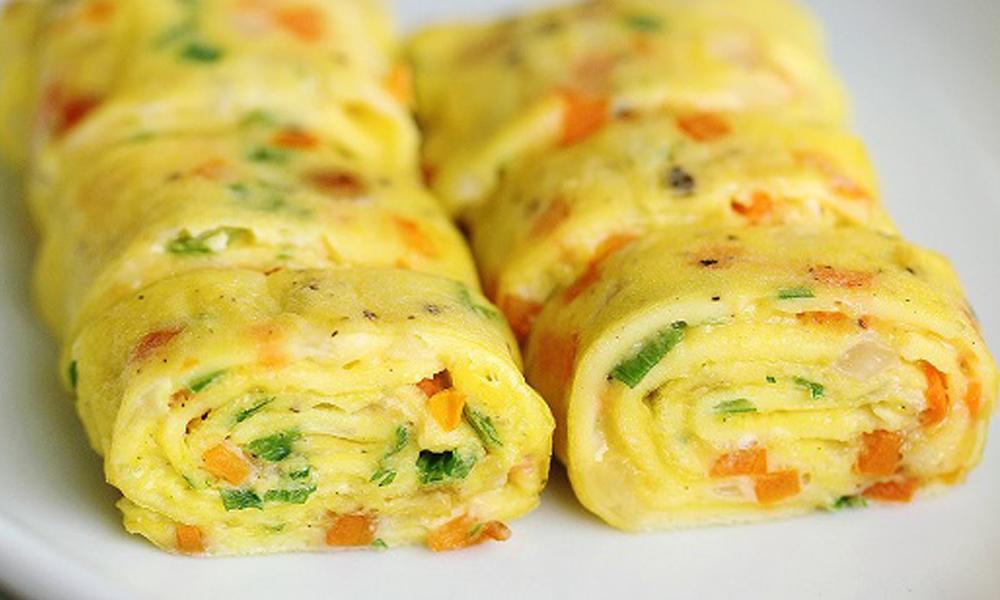 Hướng dẫn cách làm trứng cuộn kiểu Hàn