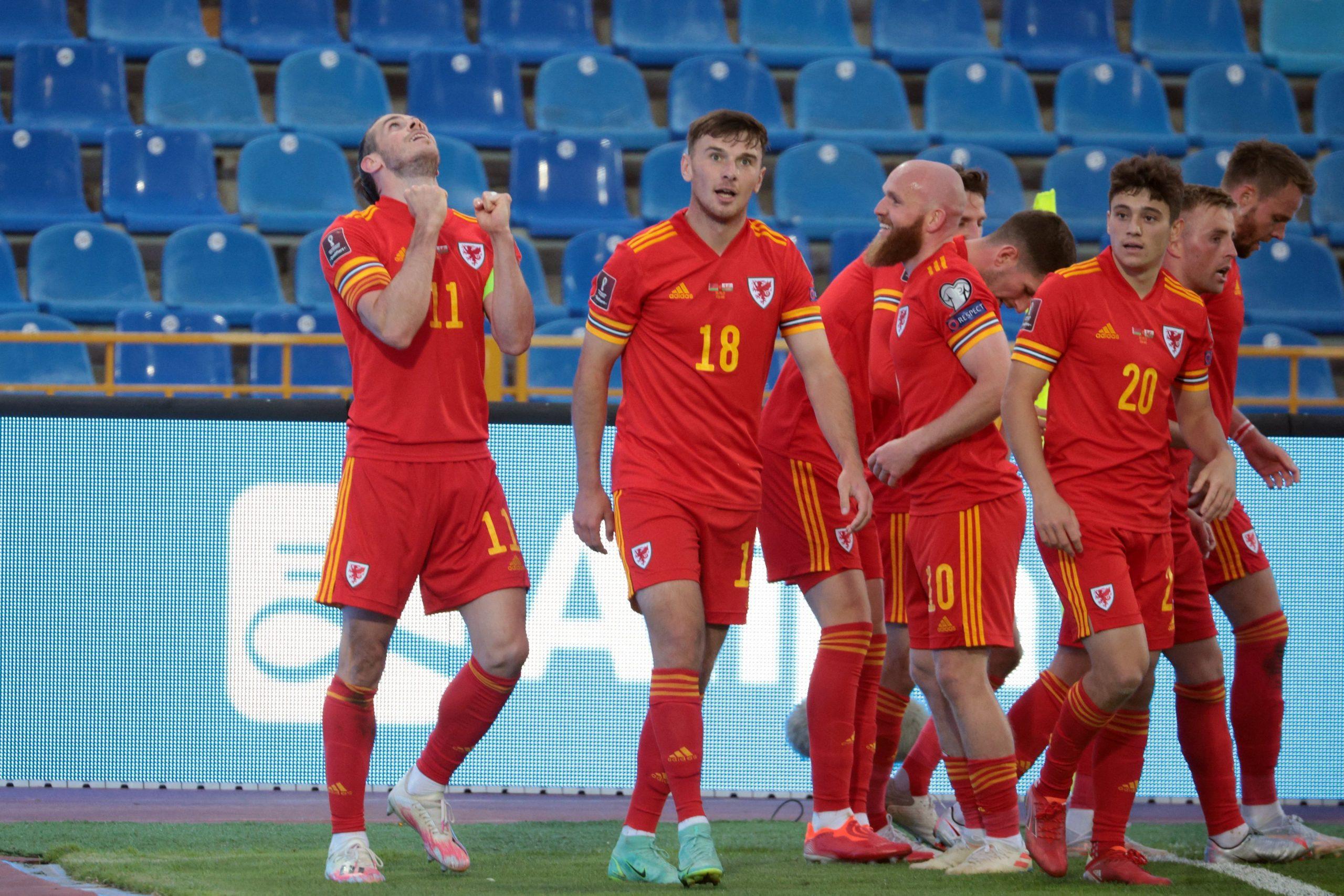 Wales đã có bàn mở tỷ số trong trận đấu với Belarus