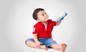 Dinh dưỡng tốt giúp trẻ phát triển khỏe mạnh
