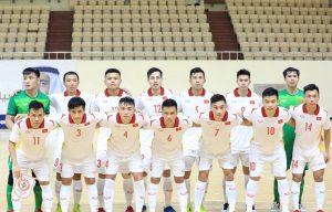 Đội tuyển futsal Việt Nam để thua 0-4 trước đội tuyển futsal Tây Ban Nha