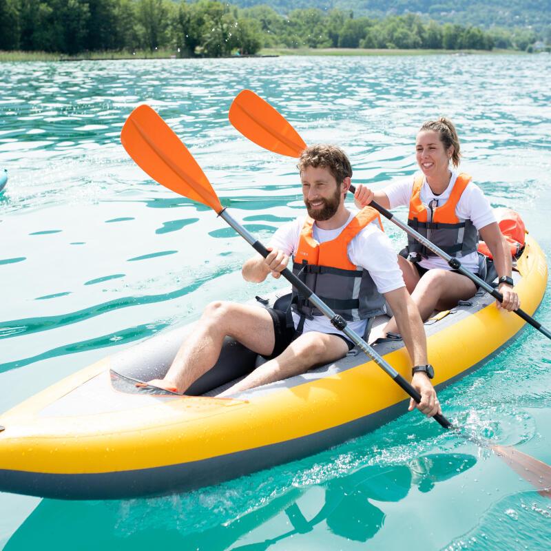 Chống nắng cho da, cất vật dụng nhỏ và tạo tư thế ngồi thoải mái khi chèo kayak