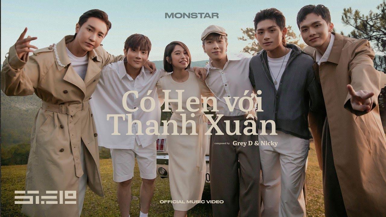 Trước chia tay, nhóm nhạc Monstar cho ra mắt MV mới