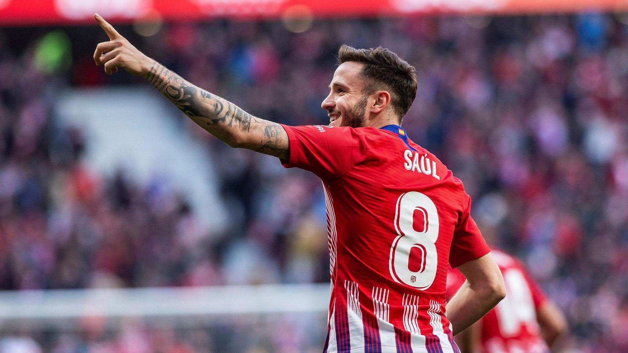Saul Niguez sẽ mang áo số mấy tại Chelsea?