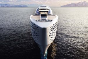 Tàu Earth 300 có sức chứa hơn 400 người, sở hữu nhiều tiện nghi