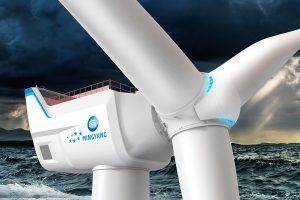 Khám phá chiếc turbine gió khổng lồ của hãng MingYang Smart Energy