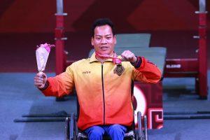 Lực sĩ Lê Văn Công thi đấu giành HCB Paralympic Tokyo 2020 môn cử tạ